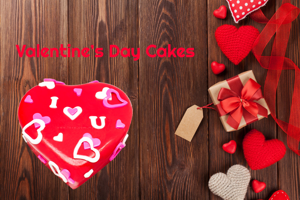 Valentine's Day Cake to India