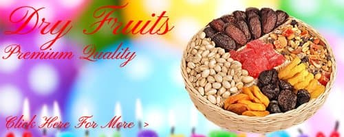 Birthday Dry Fruits to Faridabad