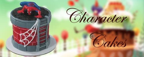 Online Character Cakes Delivery in Pondicherry