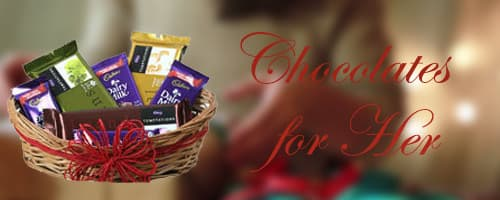 Chocolates for Her to India