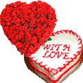 Send Valentines Day Flowers to India, Cakes to India