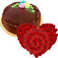 Flowers to India, Valentines Day Cakes to India