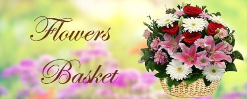 Flower Baskets to India