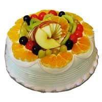 Cakes to India : Fresh Fruit Cakes to India