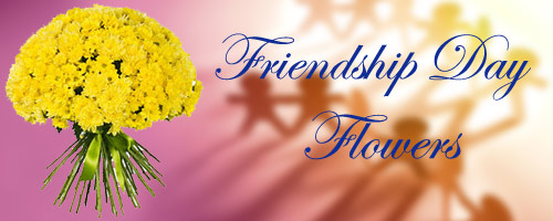 Frienship Day Flowers to India