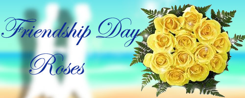 Frienship Day Roses to India