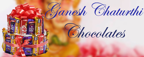 Ganesh Chaturthi Chocolate Delivery to India
