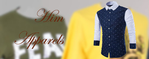 Mens Apparels to India