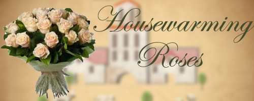 Housewarming Roses to India
