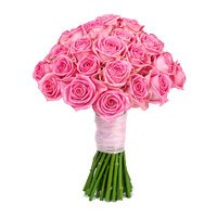 Flower Delivery in India : Pink Roses Bouquet