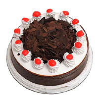 Send 1 Kg Eggless Black Forest Cake to India