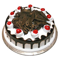 Online Same Day Cake Delivery in India for 2 Kg Eggless Black Forest Cake