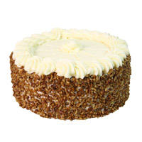 Send 1 Kg Eggless Butter Scotch Cake to India