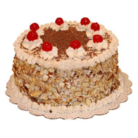 Send 2 Kg Butter Scotch Cake to India From 5 Star Hotel on Rakhi