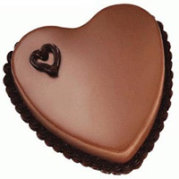 2 Kg Heart Shape Chocolate Cake Order Online India
