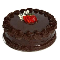 500 gm Eggless Chocolate Cake Delivery to India
