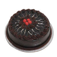 Send 1 Kg Eggless Chocolate Cake to India Online