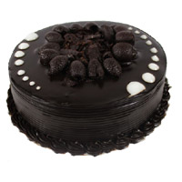 Karwa Chauth Eggless Chocolate Cake to India