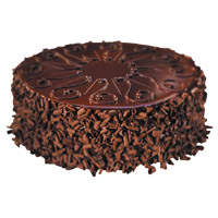 Send 1 Kg Eggless Chocolate Cake Order Online India from 5 Star Hotel