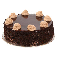 1 Kg Chocolate Cakes Delivery to India From 5 Star Hotel