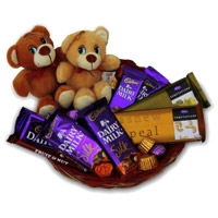 Teddy and Chocolates to India