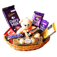 Chocolates and Gifts to India
