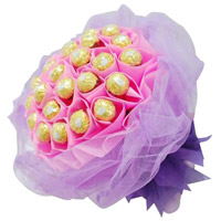 Get 40 Pcs Ferrero Rocher Bouquet Visakhapatnam. Father's Day Gifts in India
