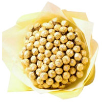 Gifts to India. Order on Father's Day for 80 Pcs Ferrero Rocher Bouquet of Chocolates in India