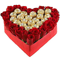 Send 96 Pcs Ferrero Rocher Bouquet of Chocolates to India. Father's Day Gifts to India