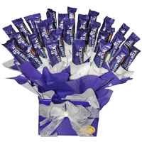 Deliver Father's Day Gifts in India comprising Dairy Milk Chocolate Bouquet 32 Chocolates to India India