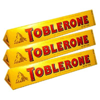 Place Online Order to send Diwali Gifts to India. Toblerone 300 gms Chocolates in India