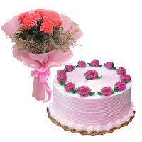 Flower Cake Delivery in India