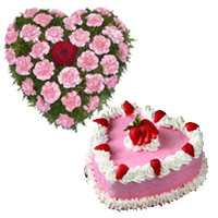 Durga Puja Cakes and Flowers to India