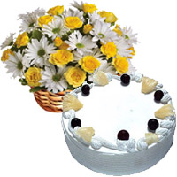 Online Eggless Cakes to India