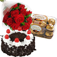 Mix Carnation and Chocolate Cakes to India