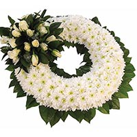 Wreath in India : Send Condolence Flowers to India
