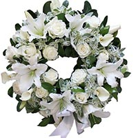 Online Condolence Flowers to India
