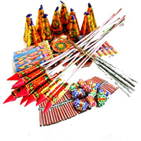 Crackers and Diwali Gifts in India Send to Assorted Crackers worth Rs 1000