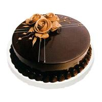 500 gm Chocolate Truffle Cake with 1 Free Rakhi in Jodhpur