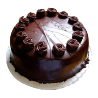Shop for 500 gm Eggless Chocolate Truffle Cake to India