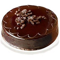 Deliver 1 Kg Eggless Chocolate Truffle Cake to India