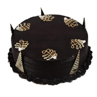 Send 1 Kg Eggless Chocolate Truffle Cake to India From 5 Star Hotel