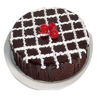 1 Kg Chocolate Truffle Cakes to India Online From 5 Star Hotel on Rakhi