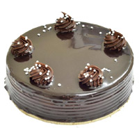 Get Rakhi with Cakes to India. 2 Kg Chocolate Truffle Cake From 5 Star Hotel