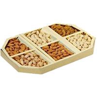Place Online Order to Send 3 Kg Fancy Dry Fruits in India. Dry Fruits to India