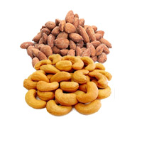 250gm Roasted Cashew and 250gm Roasted Almonds to Daman