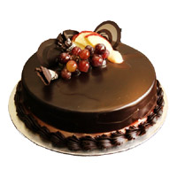 1 Kg Eggless Chocolate Truffle Cake Order Online From 5 Star Bakery