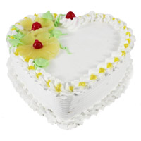 Heart Shape Cakes to Jhansi