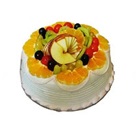 Send 500 gm Eggless Fruit Cake to India