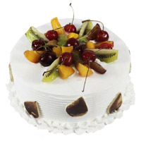 Online Cake Delivery of 3 Kg Fruit Cakes in India From 5 Star Hotel